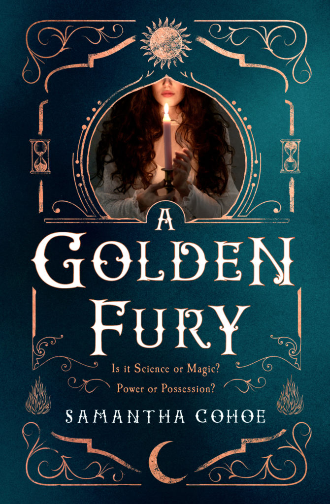 cover, A GOLDEN FURY, Cohoe